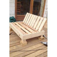 Reciclando: cajones de madera