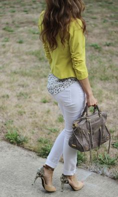 Lilly's Style: yellow-mellow