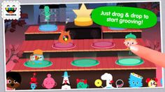 iPhone App Toca Band | Education | Music | ***** | 4  | $2.99 NOW FREE | Play with sounds and create your own band! Rock out with Toca Band! Toca Band is getting ready for their big concert and n