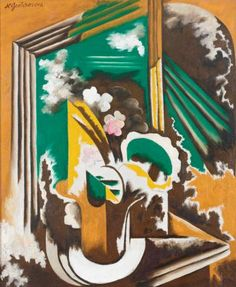 Discovered, and love, the work of Russian painter Natalia Goncharova at the AGO today