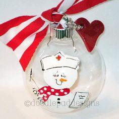 Ornament for nurses