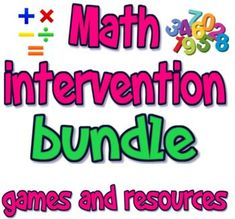 200 pages + of math resources, exit tickets, warm ups, anchor activities, small group activities and games. During the last 8 years I was a math interventionist or STEM coach, creating resources for K-12 students with IEPs. 504s, behavioral issues, etc. This is a growing collection of those resource... Anchor Activities, Small Group Activities, Math Skills, Math Lessons, Free Math Games, Word Bingo, Math Intervention, Behavioral Issues, Christmas Math