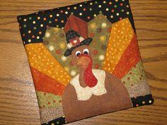 Talk Turkey trivet tux   Flickr - Photo Sharing!
