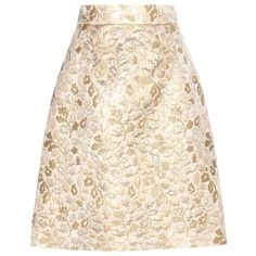 Dolce & Gabbana Metallic Jacquard Skirt (6.365 ARS) ❤ liked on Polyvore featuring skirts, bottoms, saias, gold, dolce gabbana skirt, jacquard skirts, metallic jacquard skirt, pink skirt and metallic skirts