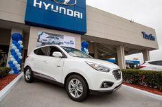 Hyundai ix35 Modeliyle Birleşik Krallık'ta Hidrojen Yakıt Pili Rekoru Kırdı