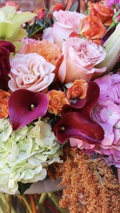 Fall Floral Arrangements | Wedding Flowers