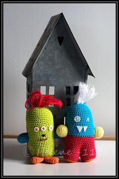 Monsters - crochet amigurumi