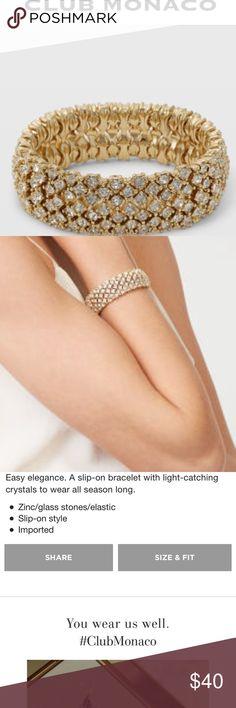 Club Monaco Jenna stretch bracelet Club Monaco Jenna stretch bracelet Club Monaco Jewelry Bracelets