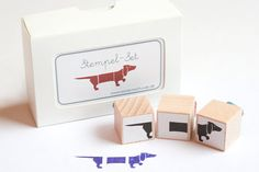 Rubber Stamps, £7.55 | 18 Gifts Every Dachshund Lover Needs