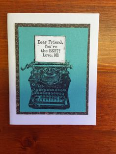 Crafty Carol : April 2015 Stamp of The Month Blog Hop #ChalkItUp #heatembossing