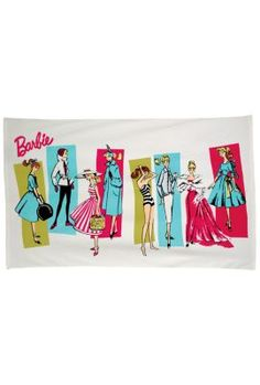 Vintage Barbie Beach Towel | The Barbie Collection