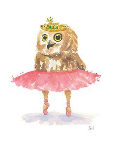 ballerina owl for Kelleigh