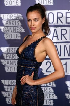 Model Mania: L'Oreal Paris Throws Blue Obsession Party in Cannes - -Wmag
