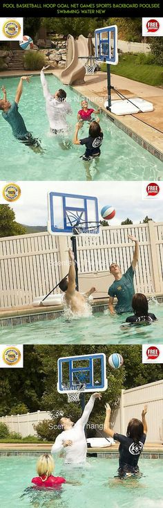 Pool Basketball Hoop Goal Net Games Sports Backboard Poolside Swimming Water New #poolside #hoop #technology #drone #parts #fpv #tech #products #basketball #plans #camera #kit #shopping #gadgets #racing
