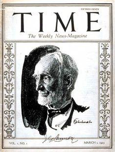 TIME Magazine Cover: Joseph G. Cannon - Mar. 3, 1923 - TIME - Politics