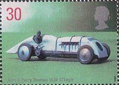 Speed 30p Stamp (1998) John G. Parry Thomas's Babs, 1926