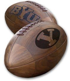 BYU Solid wood football