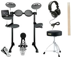 Yamaha DTX450K Electronic Drum Set Bundle -- Find out more about the great product at the image link.Note:It is affiliate link to Amazon.