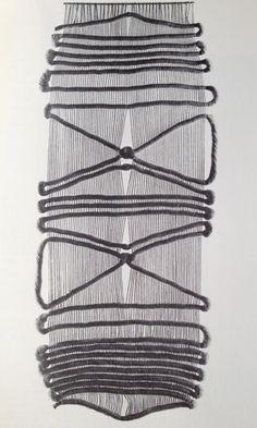 // Francoise Grossen, undyed sisal (1967)