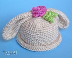 CROCHET PATTERN Some Bunny Hat a boy & girl bunny von TheHatandI
