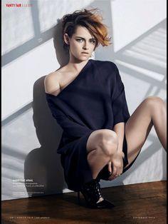 Kristen Stewart: 4. KRISTEN STEWART in Vanity Fair Magazine , France September 2014 Issue