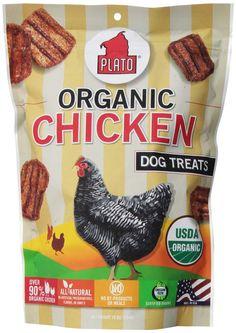 Plato Organic Chicken Dog Treats