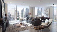 Dollar Bay living room