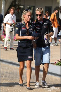 So now that I've won a fourth championship, we'll you finally go out with me???, No Seb, I told you not until you've beaten all of Michael's records!