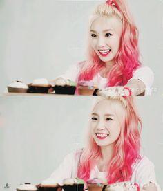I love this watermelon hair ❤️