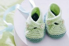 Strickschuhe Baby - So gelingen Ihnen süße Strickschühchen