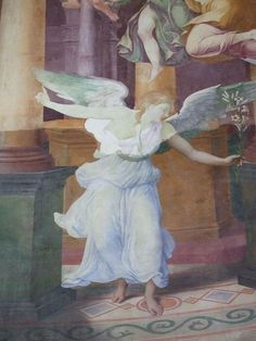 Chaalis fresque annonciation - Francesco Primaticcio - Wikipedia, the free encyclopedia
