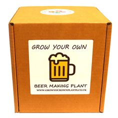 Grow Your Own Beer Making Plant Kit - Planting kit for children and adults Brewing Beer, How To Make Beer, Garden Gifts, Grow Your Own, Planting, Fathers Day, Kit, Children, Birthday