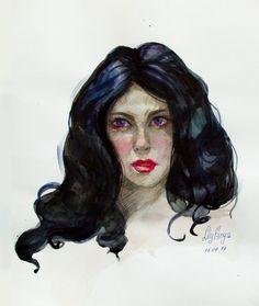 Yennefer by anyaLily