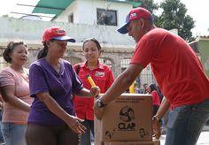Dos mil 950 familias recibieron CLAP en Bejuma