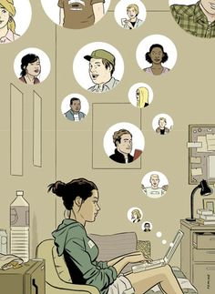 ADRIAN TOMINE - It isn't even in the physical act itself — it's in the existential promise that it holds