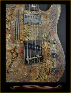 James Trussart Steelcaster Rust
