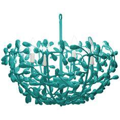 Sea Blue Chandelier