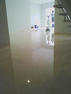 Jasa Poles Marmer. Kami bergerak dibidang jasa poles marmer, teraso, granit dll, Dengan metode poles kristalisasi yang akan membuat lantai r...