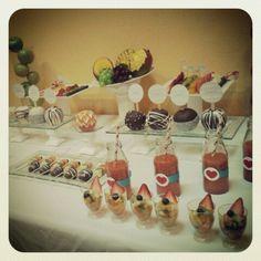 Happy spring!  Mesa frutal, fruit buffet by @Arte En Frutas