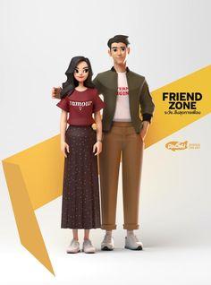 3d Model Character, Character Modeling, Character Creation, Character Concept, Character Art, Simple Character, Art Thai, Bg Design, Blender 3d