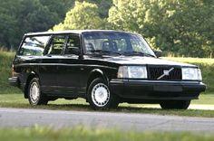 black volvo 240 wagon