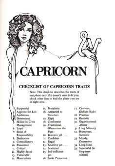 Lastly, Aquarius & Pisces Sex Signs by Judith Bennett (Illustrations by Craig Carl) Capricorn Facts, Capricorn Quotes, Zodiac Signs Capricorn, Capricorn And Aquarius, Capricorn Tattoo, My Zodiac Sign, Astrology Signs, Capricorn Qualities, Spirituality