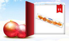 Hinter dem Fenster unseres clever® Adventkalenders 2012 findet Ihr heute unseren clever® frischen Blätterteig! Er wird in Österreich hergestellt und eignet sich hervorragend für köstliche Kreationen mit süßer oder pikanter Fülle! Wie Ihr damit gewinnen könnt, erfahrt Ihr in unserem Onlinemagazin http://www.cleverleben.at/clever-magazin/post/2012/12/11/das-11-fenster-ist-offen.html