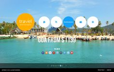 Travel World Travel Agency HTML5 Template 300111659 by Dynamic Template