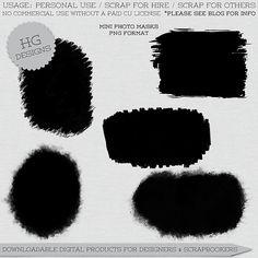 Scrapbooking TammyTags -- TT - Designer - HG Designs, TT - Item - Photo Mask