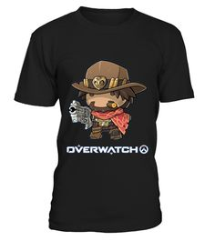 Overwatchh Mccree  #videogame #shirt #tzl #gift #gamer #gaming