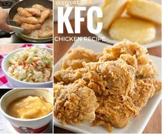 KFC Chicken Recipe Plus All The Trimmings | The WHOot