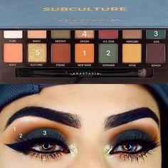 sultry blue eye makeup Makeup Goals, Makeup Inspo, Makeup Inspiration, Makeup Tips, Makeup Ideas, Makeup Products, Full Makeup, Eye Makeup Steps, Easy Makeup