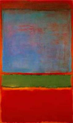 Violet, Green and Red (1951), Mark Rothko
