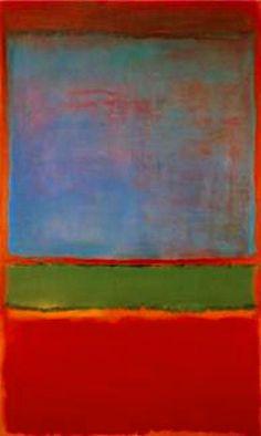 Violet, Green and Red (1951), Mark Rothko Action Painting, Pintura Grande, Willem De Kooning, Abstract Painters, Abstract Art, Art Plastique, Jackson Pollock, Rothko Art, Mark Rothko Paintings